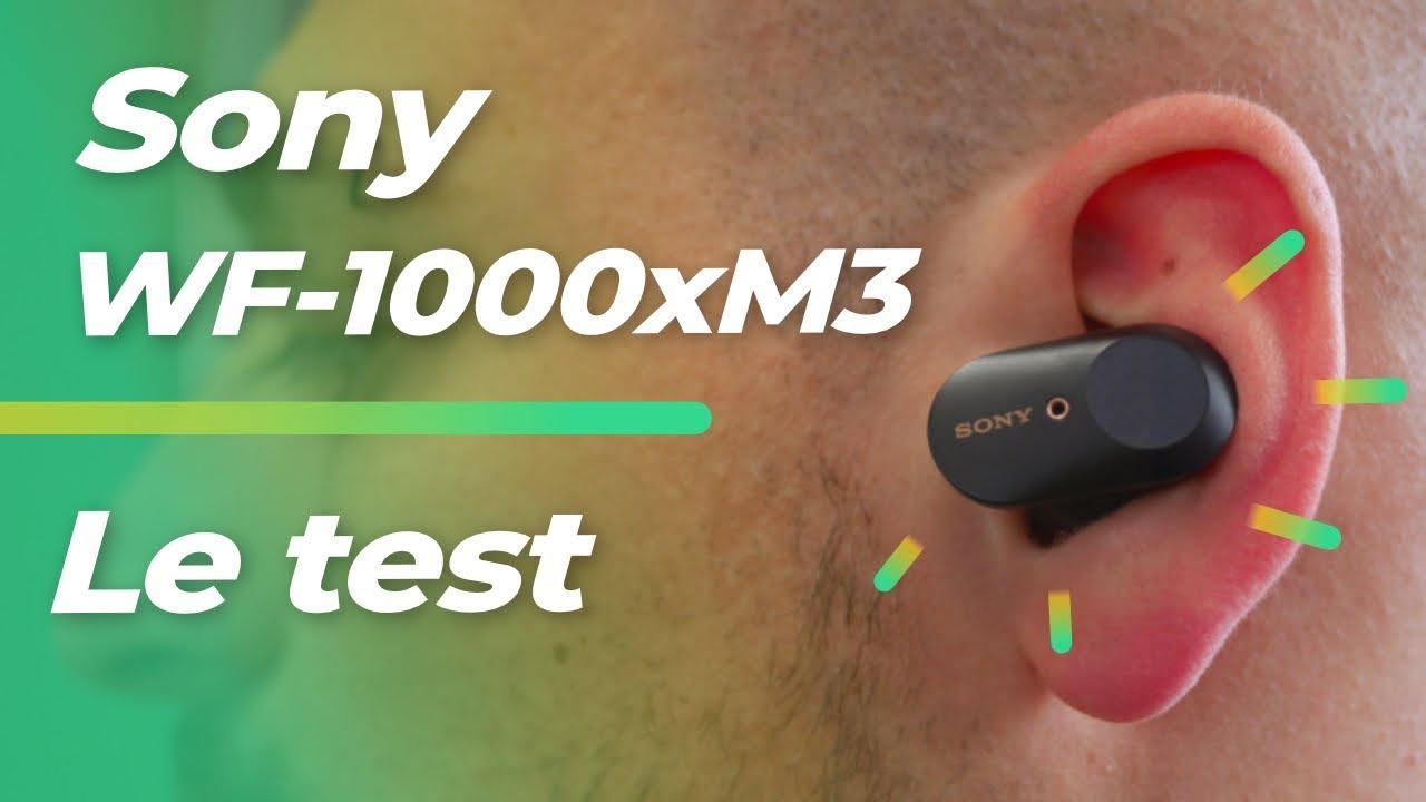 Test des Sony WF-1000xM3 : comme des AirPods, mais EN MIEUX !