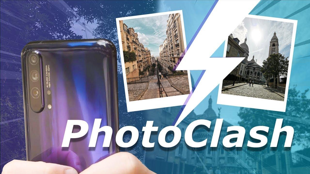 Honor 20 Pro : QUATRE capteurs photo, DEUX photographes, UN vainqueur [PhotoClash 3!]