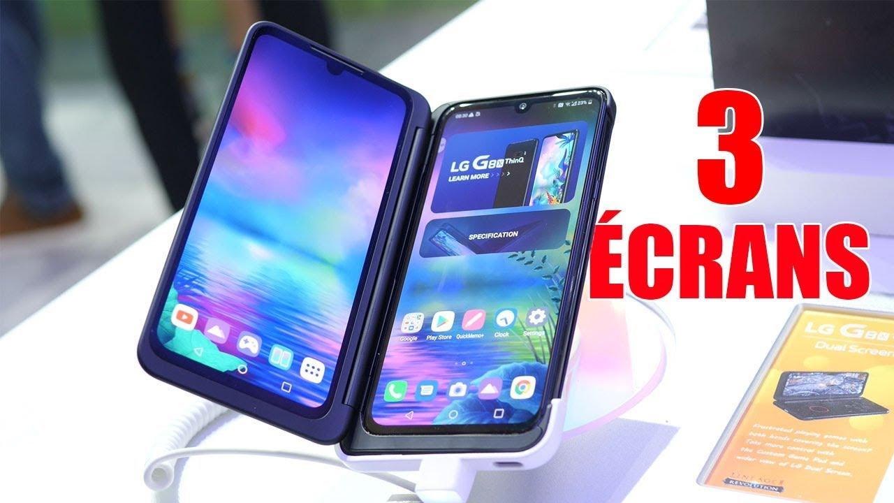 LG G8X ThinQ : Le premier SMARTPHONE à TRIPLE ÉCRAN !