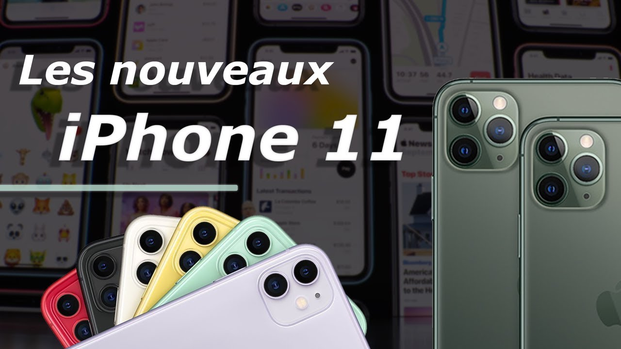 iPhone 11 et iPhone 11 Pro Max : pourquoi Apple fait PLUS que rattraper son RETARD ?