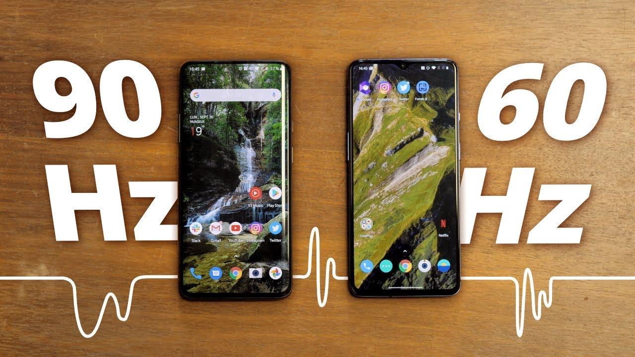 90 Hz vs 60 Hz : Fait-on VRAIMENT la différence ? (OnePlus 7t et Oneplus 7 Pro)