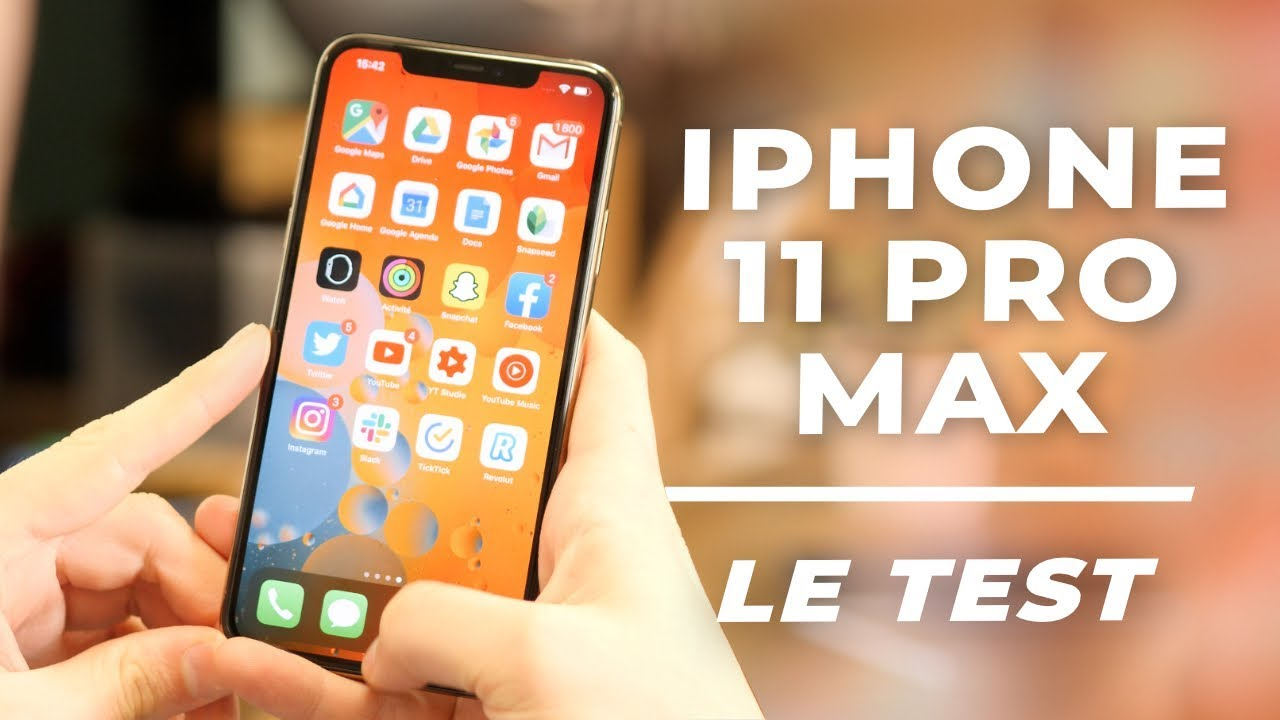TEST iPhone 11 Pro Max : le smartphone qu'on DÉTESTE AIMER !