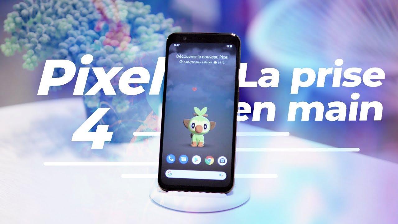 Google Pixel 4 et Pixel 4 XL : notre PRISE EN MAIN !