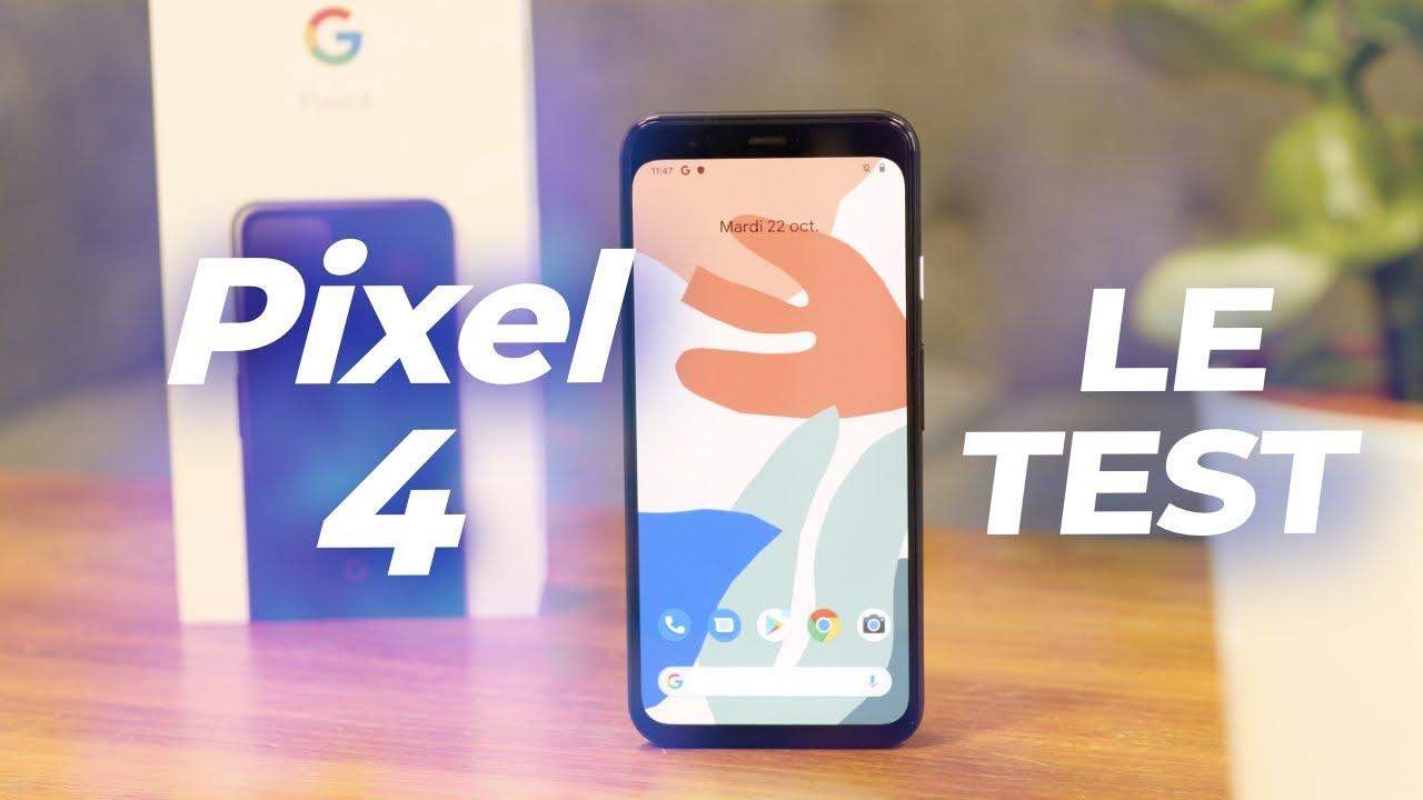 Test du Google Pixel 4 : un appareil photo ÉBLOUISSANT, une autonomie DÉCEVANTE !