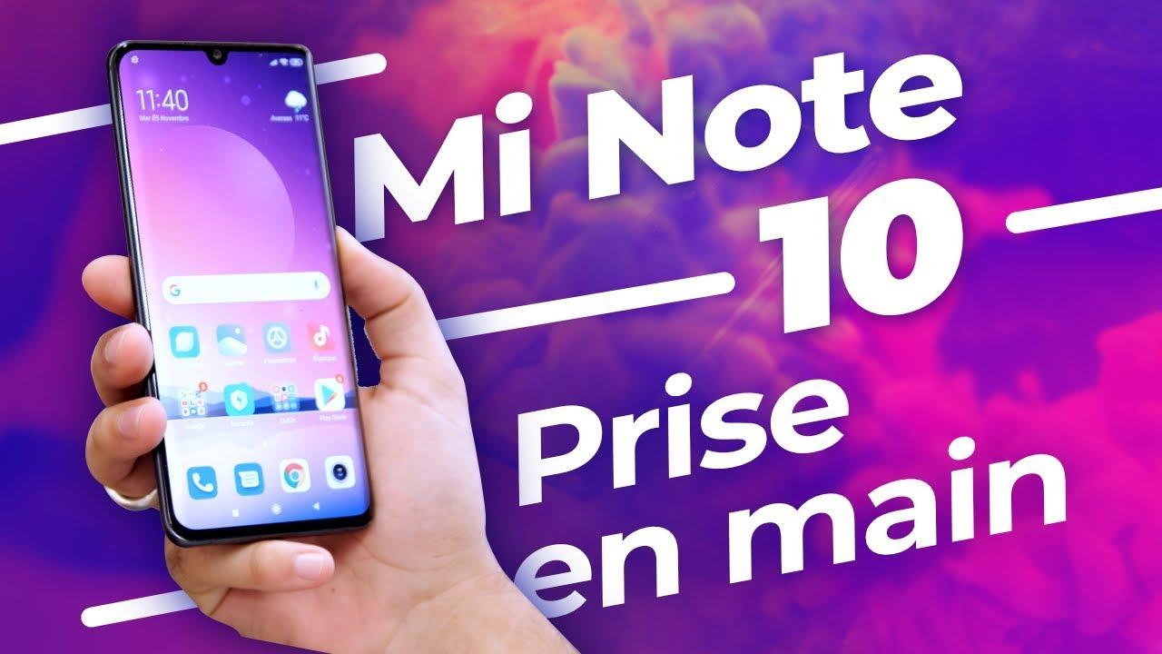 Xiaomi Mi Note 10 : le PREMIER SMARTPHONE à 108 MP !