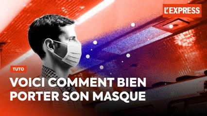 Mode d'emploi : comment bien mettre et retirer son masque