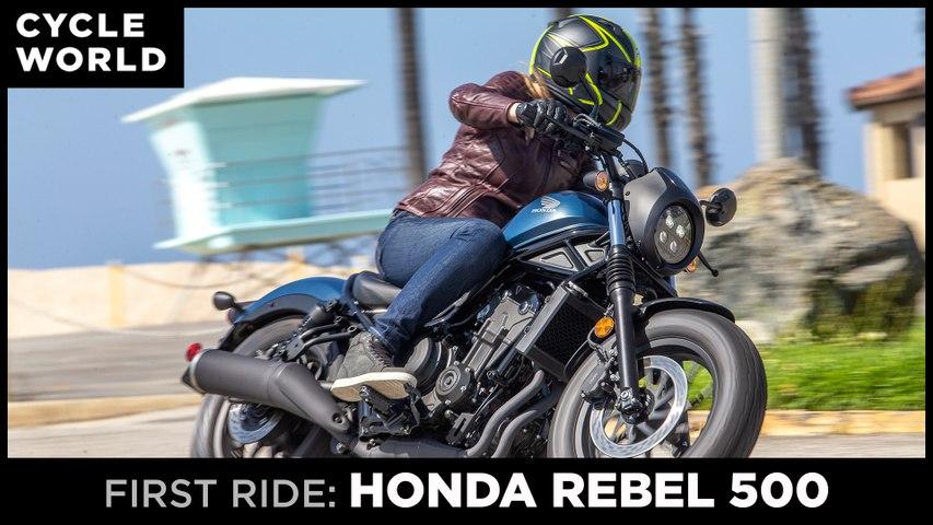 2020 Honda Rebel 500 First Ride