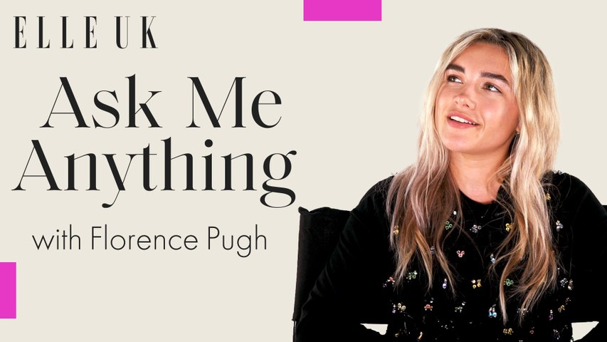 Florence Pugh plays Ask Me Anything