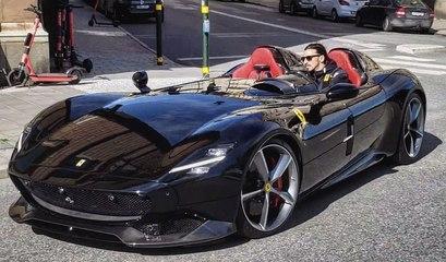 La Ferrari Monza à 1,5 M€ de Zlatan Ibrahimovic