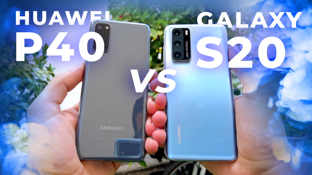 Huawei P40 VS Samsung Galaxy S20 ! (Caméra)