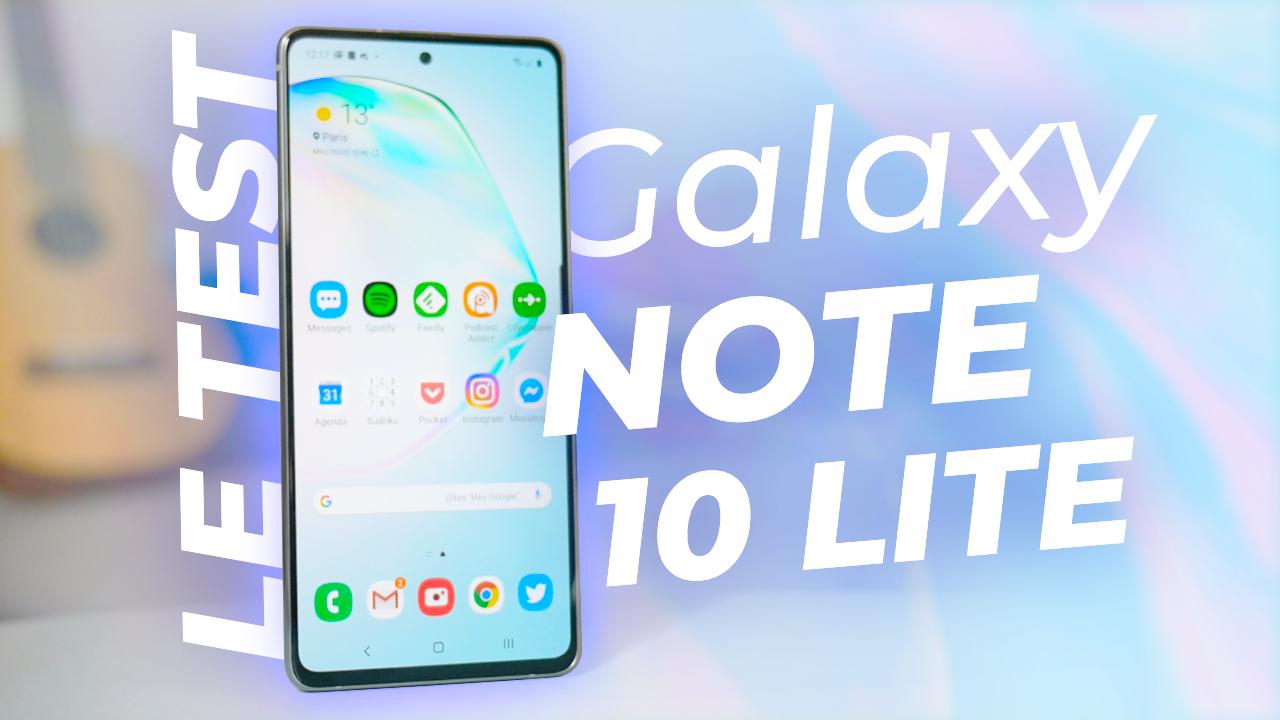 TEST Samsung Galaxy Note 10 Lite : TROP CHER pour la proposition…
