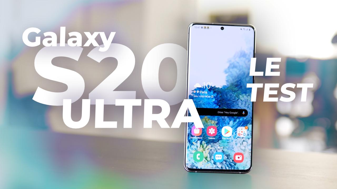 Test Samsung Galaxy S20 Ultra : le MASTODONTE qu'on ADORE !