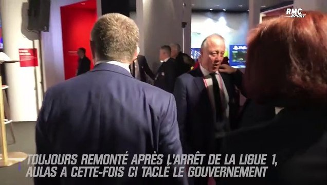 Ligue 1 : Aulas tacle le gouvernement dans une lettre à des parlementaires