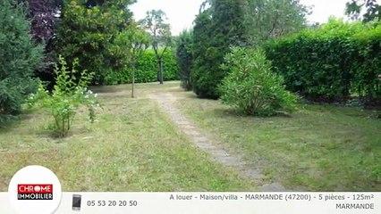 A louer - Maison/villa - MARMANDE (47200) - 5 pièces - 125m²