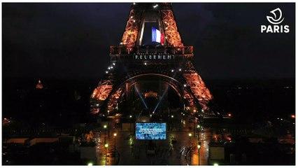 Paris leur dit merci : Hommage aux Parisien.ne.s à la Tour Eiffel - Version longue