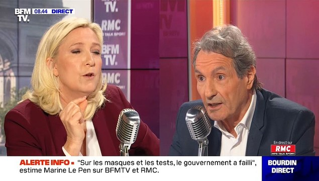 """Marine Le Pen : """"Il y a des médecins qui ont raconté n'importe quoi comme Michel Cymes"""""""