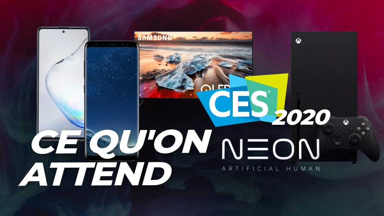 Galaxy S10 Lite et Note 10 Lite, OnePlus Concept One : ce qu'on attend du CES 2020 !