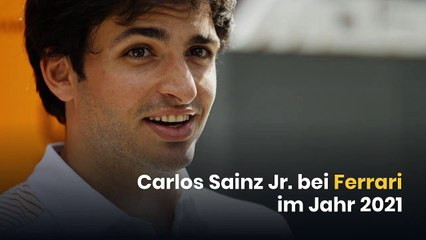 Carlos Sainz Jr. bei Ferrari im Jahr 2021