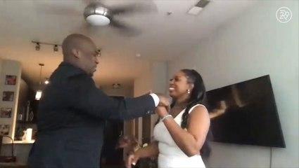 I Had A Zoom Wedding In My Living Room
