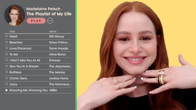 Madelaine Petsch Creates the Playlist of Her Life