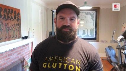 Ethan Suplee | Gym & Fridge