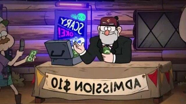 Gravity Falls Season 2 Episode 1 Scary-Oke