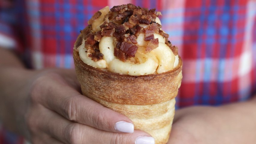 Re-Create Disneyland's Magical Mac and Cheese Cones at Home With This Easy Recipe