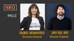 Isabel Benavides y Javi del Río en NEO Marketing Talk