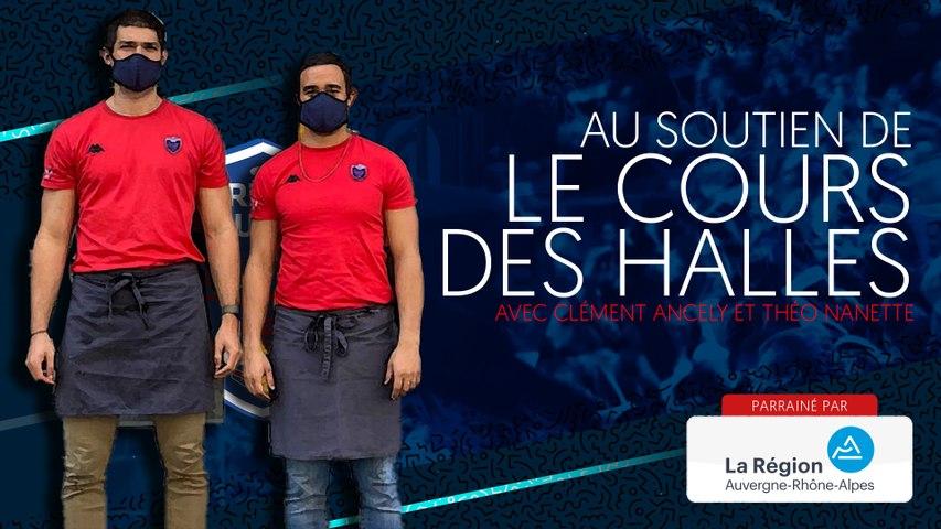 Rugby : Video - Theo Nanette et Clement Ancely au soutien du Cours des Halles