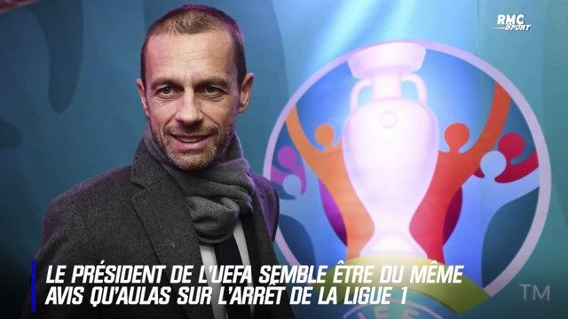 """Arrêt de la Ligue 1 : """"Une décision prématurée"""" juge le patron de l'UEFA"""