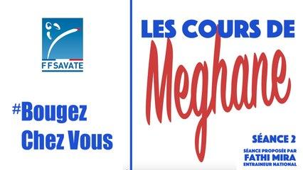 SAVATE boxe française -  Cours Séance 2 / #BOUGEZCHEZVOUS…⏱ … avec Méghane AMOURI