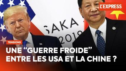 """Chine contre les États-Unis : une """"guerre froide"""" sur fond de pandémie ?"""