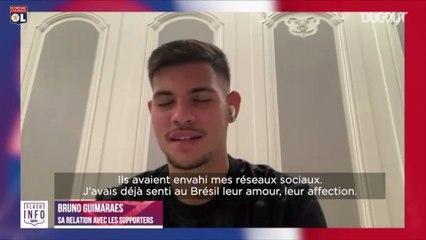 Bruno Guimarães revient sur la fin de la saison en Ligue 1 2019/20