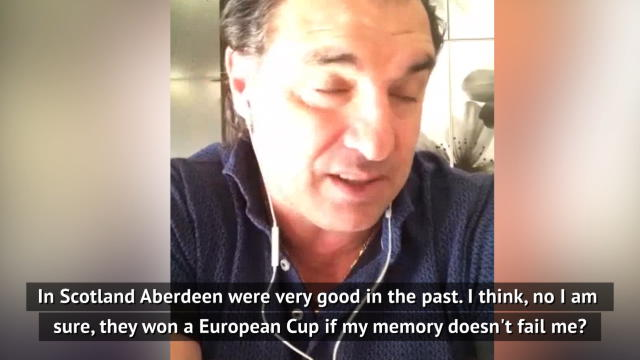 Former Rangers icon Amoruso laments lack of competition in Scotland