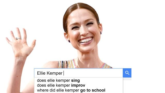 Ellie Kemper Answers the Web's Most Searched Questions