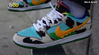 Ice Cream Kicks! Nike & Ben & Jerry's Team up to Release 'Chunky Dunky' Ice Cream Shoes!