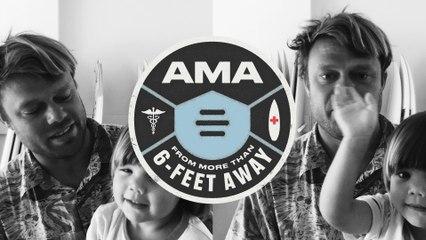 Dane Reynolds- AMA From More Than 6-Feet Away