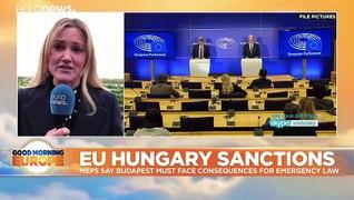 Hungary: 'Critics silenced' in social media arrests as EU debates Orban's powers