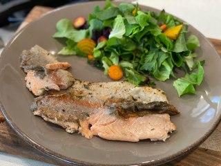 Trucha a las finas hierbas - Deliciosa receta de pescado
