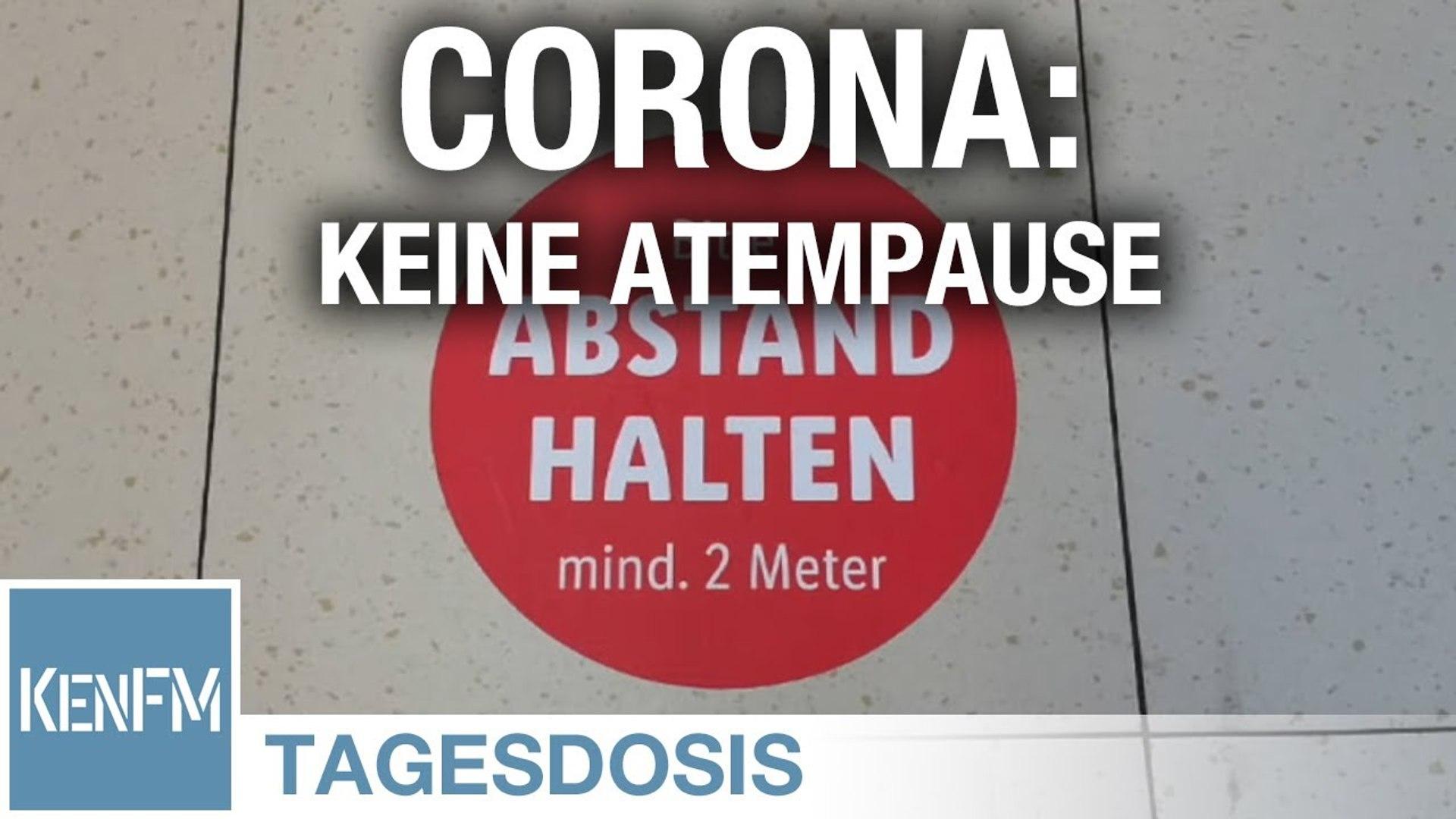 Tagesdosis 16.5.2020 - Corona - Keine Atempause, Geschichte wird gemacht, es geht voran!