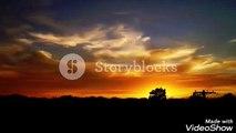 wonderful golden sunset, sunset