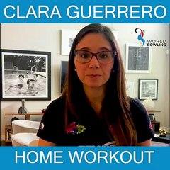 Clara Guerrero Home Workout