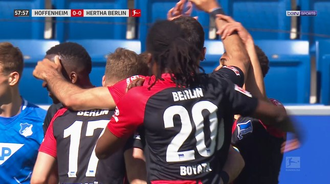 "Bundesliga - La célébration ""polémique"" du Hertha Berlin"