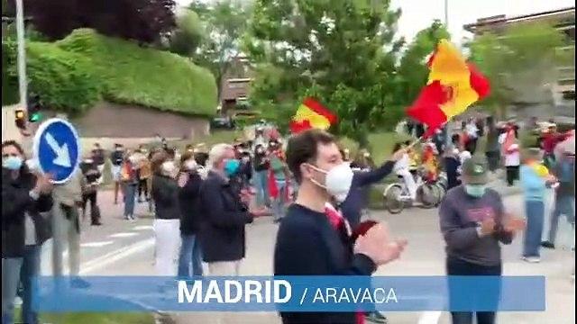 Caceroladas a lo largo de España