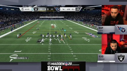 Pick 6 off the first snap of the Madden Bowl Semifinal!