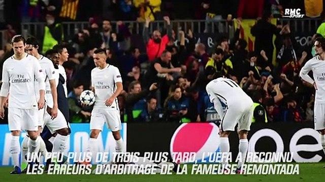 PSG : Trois ans après, L'UEFA reconnaît un mauvais arbitrage lors de la remontada