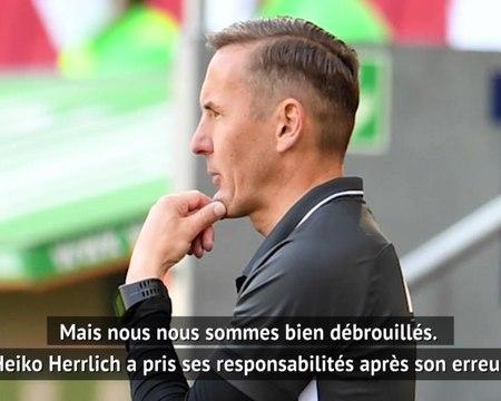 """26e j. - Zeller (Augsbourg) : """"L'absence de notre entraineur n'est pas la cause de notre défaite"""""""