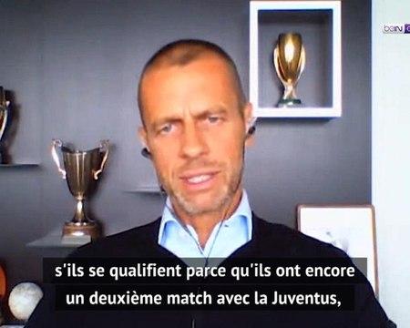 """Coronavirus - Pour ?eferin, le PSG et Lyon devront jouer """"soit en France, soit sur terrain neutre"""""""