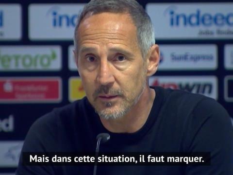 """26e j. - Hütter : """"Le sauvetage de Martin Hinteregger a été exceptionnel"""""""