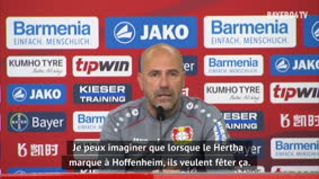 26e j. - Bosz revient sur la célébration polémique des joueurs du Hertha Berlin